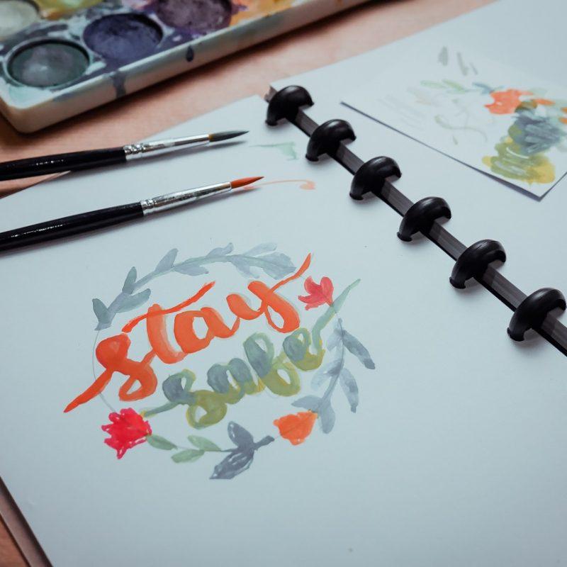 Hand lettering evhy 1